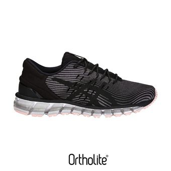 Chaussures running femme GEL-QUANTUM 360 4 carbon/black