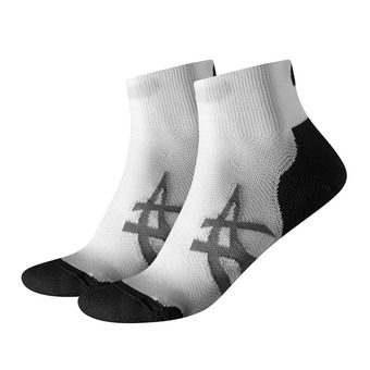Pack de 2 pares de calcetines CUSHIONING real white