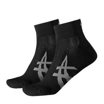 Lot de 2 paires de chaussettes CUSHIONING performance black