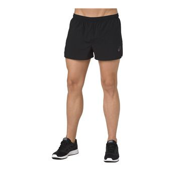 Asics SILVER SPLIT - Shorts - Men's - performance black