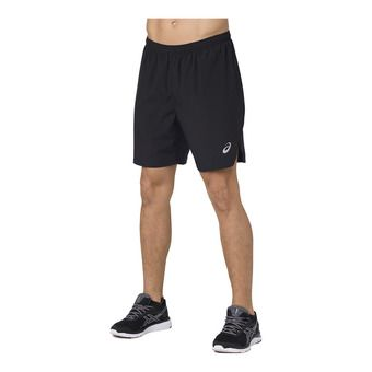 Asics SILVER - Short hombre performance black
