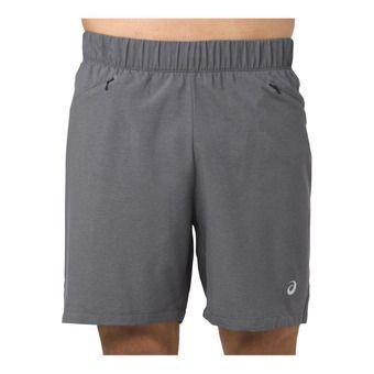 Short homme 2-N-1 7IN dark grey heather