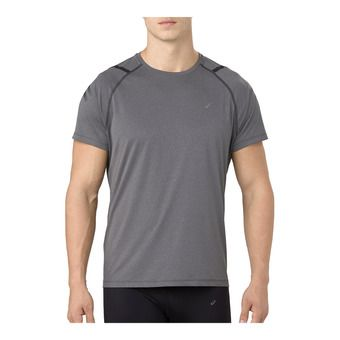Asics ICON - Camiseta hombre dark grey/performance black