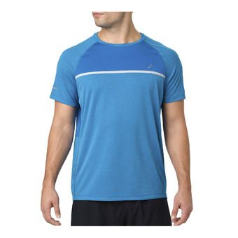 Asics SS - Maillot Homme race blue