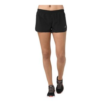 Asics SILVER SPLIT - Short Femme performance black