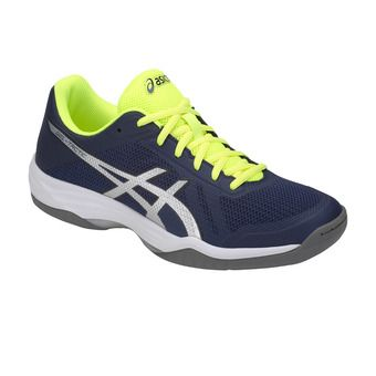 Asics GEL-TACTIC - Chaussures volley Homme peacoat/silver
