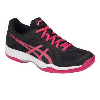 Asics GEL-TACTIC - Chaussures volley Femme black/pixel pink