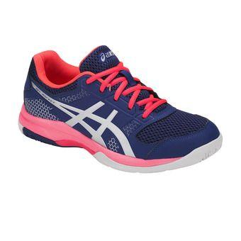 Asics GEL-ROCKET 8 - Zapatillas de voleibol mujer blue print/silver