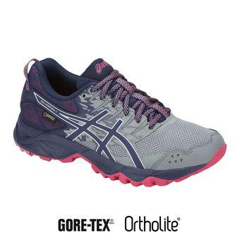Zapatillas de trail mujer GEL-SONOMA 3 G-TX stone grey/pixel pink