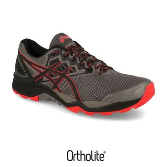 Chaussures trail homme GEL-FUJITRABUCO 6 carbon/red alert