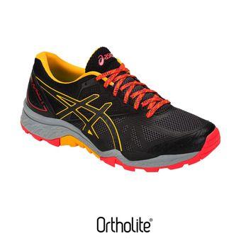 Chaussures trail femme GEL-FUJITRABUCO 6 black/amber