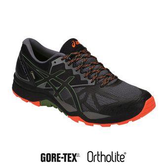Chaussures trail homme GEL-FUJITRABUCO 6 G-TX carbon/black