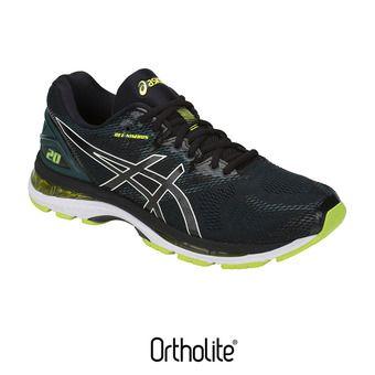 Zapatillas de running hombre GEL-NIMBUS 20 black/neon lime