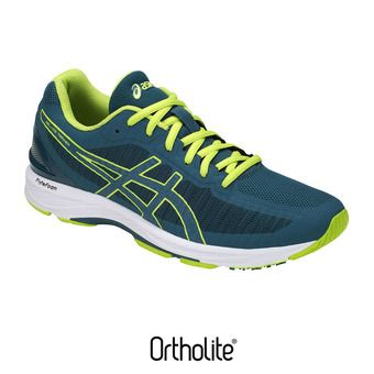 Asics GEL-DS TRAINER 23 - Chaussures running Homme deep aqua/neon lime