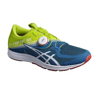 Chaussures running homme GEL-451 neon lime/white