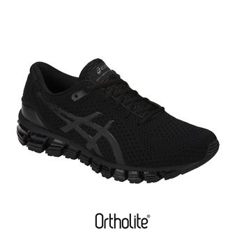 Chaussures running homme GEL-QUANTUM 360 KNIT 2 black/black
