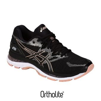 Chaussures running femme GEL-NIMBUS 20 black/frosted rose