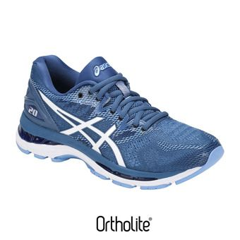 Asics GEL-NIMBUS 20 - Zapatillas de running mujer azure/white