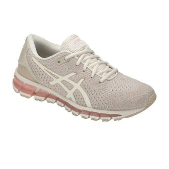 Asics GEL-QUANTUM 360 KNIT 2 - Chaussures running Femme birch/feather grey