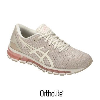 Chaussures running femme GEL-QUANTUM 360 KNIT 2 birch/feather grey