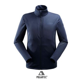 Veste polaire Polartec® homme SIDECUT dark night