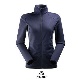 Veste polaire Polartec® femme SIDECUT dark night