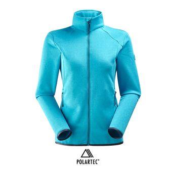 Veste polaire Polartec® femme SIDECUT blue morpho