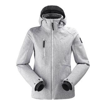 Veste de ski à capuche femme COLE VALLEY 2.0 white