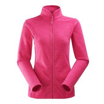 Polaire zippée femme GLAD 2.0 dark pink