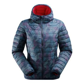 Eider TWIN PEAKS - Doudoune réversible Femme dark night print camo