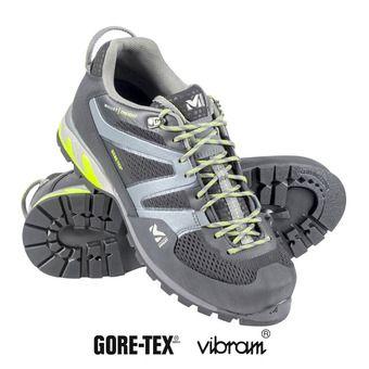 Zapatillas de aproximación hombre TRIDENT GTX® black/acid green