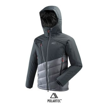 Chaqueta híbrida hombre ELEVATION DUAL DOWN tarmac/black