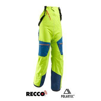 Pantalon homme WHITE NEO acid green/poseidon