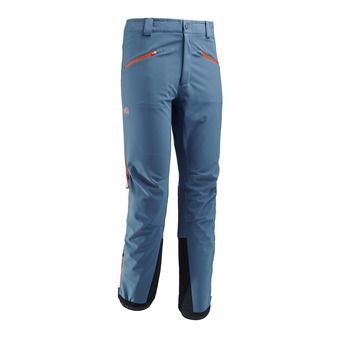 Pantalon Softshell homme TOURING SHIELD teal blue