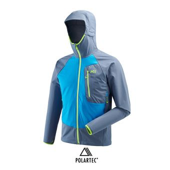 Millet TOURING SPEED XCS - Chaqueta hombre teal blue/electric blue