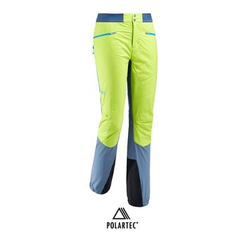 Millet TOURING SPEED XCS - Pantalón de esquí hombre teal blue/acid green