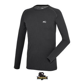 Camiseta térmica hombre C WOOL BLEND 150 black