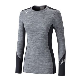Camiseta térmica mujer VIRTUAL BODY G2 CREW heather grey/black