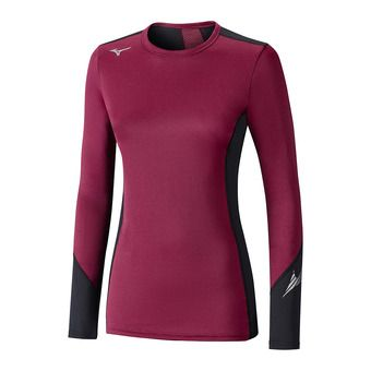 Sous-couche ML femme VIRTUAL BODY G2 CREW beet red/black