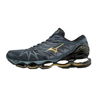 Chaussures de running homme WAVE PROPHECY 7 ombre blue/gold/black