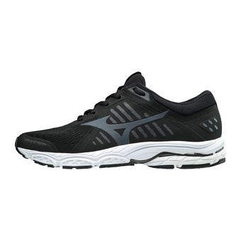 Mizuno WAVE STREAM - Chaussures running Homme black/ombre blue/white