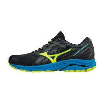 Chaussures de running homme WAVE INSPIRE 14 ombre blue/safety yellow/ diva blue