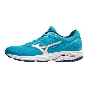 Zapatillas de running mujer WAVE RIDER 22 blue atoll/white/georgia peach