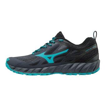 Zapatillas de trail mujer WAVE IBUKI ombre blue/peacock blue/black