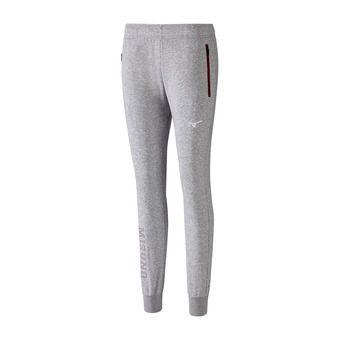 Mizuno HERITAGE - Pantalon Femme heather grey