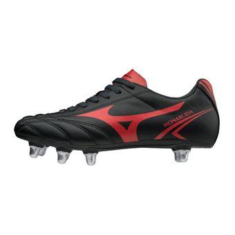 Botas de rugby hombre MONARCIDA RUGBY SI black/red