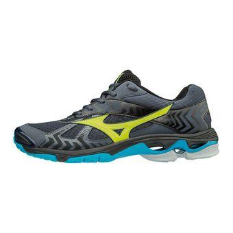 Zapatillas hombre WAVE BOLT 7 ombre blue/safety yellow/black