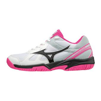 Chaussures volleyball femme CYCLONE SPEED white/black/pink glo
