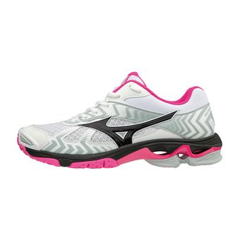 Chaussures femme WAVE BOLT 7 white/black/pink glo