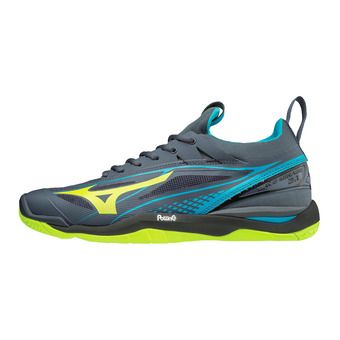 Chaussures homme WAVE MIRAGE 2.1 ombre blue/safety yellow/hawaiian ocean